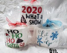 Skip to Content Sign in Cart with 2 items 2 Baby Girl Winter Hats, Embroidered Toilet Paper, Christmas Toilet Paper, Gag Gifts Christmas, Christmas Tags Printable, Printable Paper, Printable Tags, 21st Gifts, Ribbon Colors