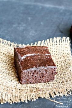 avocado brownies - NO flour
