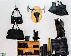Elanit Neutra makes handbags, backpacks and an assortment of other products from…