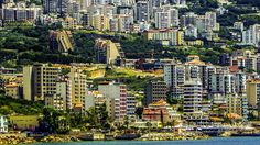 LEBANON, A VIEW OF JOUNIEH