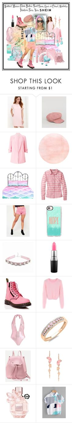 """""""transitional"""" by caroline-buster-brown ❤ liked on Polyvore featuring LULUS, Sacred Hawk, Miss Selfridge, Moxi, Laura Ashley, prAna, Casetify, MAC Cosmetics, Dr. Martens and WithChic"""