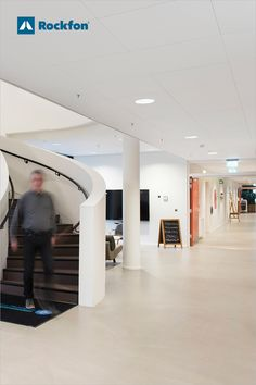 The architects behind the Danish nursing home carefully considered the acoustics to design a space that felt like home while opening it up to the public. Acoustic Ceiling Tiles, Acoustic Design, Design A Space, Sound Absorbing, Healthcare Design, Common Area, Ceiling Design, Danish Design, Future House