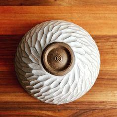 Huskmilk Pottery - bottom of a bowl