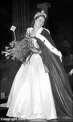 Betbeze Yolande Miss America 1951 8x10 Reprint Of Old P