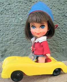 1966 Babe Biddle Liddle Kiddle This was my most favorite toy ever.  I could still play with her  lol