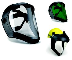 This Honeywell Bionic Face Shield features advanced ergonomic design to combine superior protection and all day comfort. www.golderssafety.com.au #golderssafety #safety #eyeprotection #faceshield #honeywell