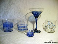 Diseños y piezas varias en azul. www.unycgd.wordpress.com Encargos en: unycgd@gmail.com