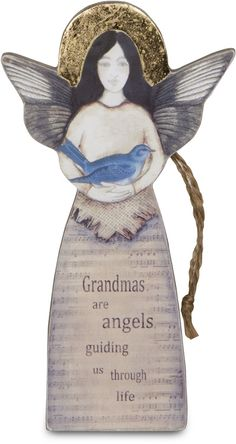 "Grandma, 5.5"" Angel Ornament - Sherry Cook Studio - Pavilion"