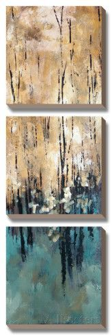 Canvas Art Set: Nature's Abundance II by Luis Solis : Painting Wood White, Forest Painting, Encaustic Art, Cool Posters, Acrylic Art, Large Art, Find Art, Canvas Art, Painting Canvas