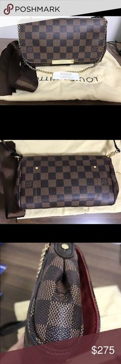 LOUIS VUITTON DAMIER CROSS-BODY BAG Only used a few times but basically brand new Bags Crossbody Bags