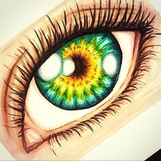 INCREIBLE eye illustration created by @stainedonyx with their Chameleon Pens.   #art #artwork #konst #konstverk #drawing #draw #rita #teckna #teckning #markers #chameleon #chameleonpens #eye #eyes #öga #ögon #pupil #iris #greeneye #color #colour #färg #färger #green #yellow #eyelashes #ögpnfransar #illustration #art #artist #artwork