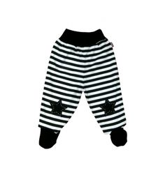 100% Cotton baby trousers with embroidered application.  Made in Portugal.