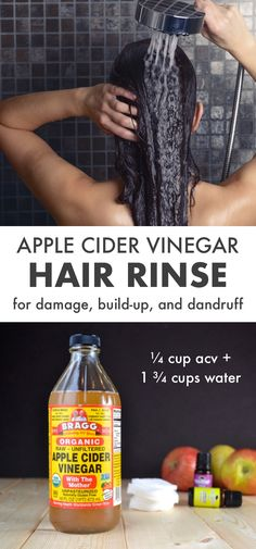 Apple Cider Vinegar Hair Rinse: Instructions, Benefits, Tips