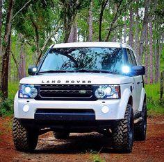 Badass Land Rover