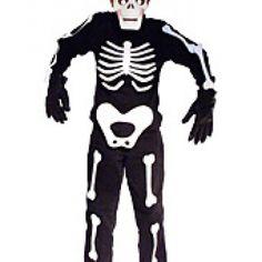 Glow in the Dark Skeleton Costume