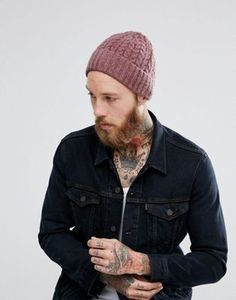 a125b3c1a10ed ASOS Lambswool Fisherman In Pink Fashion Online