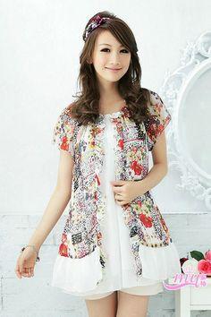 e6a10b9089739 Summer Fashion Plus Size Floral Chiffon Dress Hobo Handbags