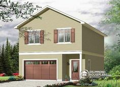 Garage Apartment Plans 2 Bedroom we would need a garage to go with the house -- this one has a