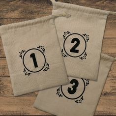 Drawstring Bags for use with Great Western Trail