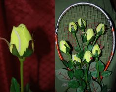 Sport Bud Tennis Rose and Rose Bouquet