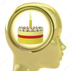 La testa di un pasticcere non ha il cervello: ha una torta !!