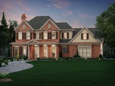 Templewood - Home Plans and House Plans by Frank Betz Associates