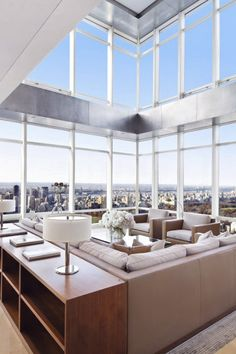 "livingpursuit: ""New York Penthouse """