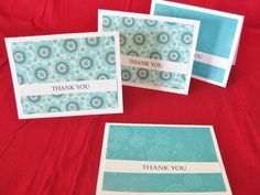Anyone could make these super simple Thank you cards!