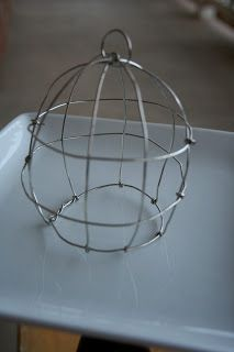 This could be made with wire hangers and some black spray paint for crows & ravens! (Or a skelly fairy or two!)