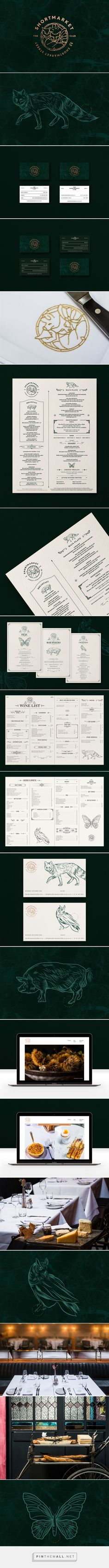 The Shortmarket Club Restaurant & Bar by Kim Van Vuuren | Fivestar Branding Agency – Design and Branding Agency & Curated Inspiration Gallery