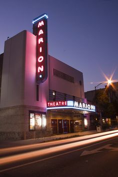For over 70 years the Marion Theatre has been a cultural icon symbolizing the spirit of beautiful Downtown Ocala. Site History, Ocala Florida, Marion County, Florida Living, Old Signs, Movie Theater, Under The Sea, Fun Activities, Culture