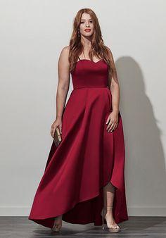 Plus Size Designer Formal | Analynne Dress (plus size) #plussizefashion