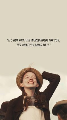 Anne of Green Gables Anne Green, Anne Of Green Gables, Anne Shirley, Quotes Lockscreen, Wallpaper Quotes, Sassy Wallpaper, Purple Wallpaper, Citations Film, Gilbert And Anne