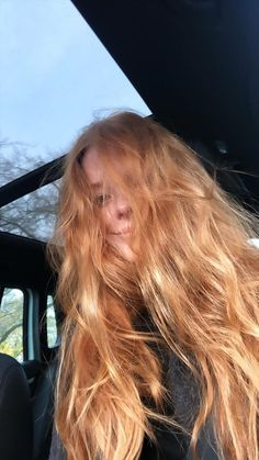 Ginger Hair Color, Strawberry Blonde Hair, Remy Hair Extensions, Aesthetic Hair, Hair Care Tips, Gorgeous Hair, New Hair, Hair Inspiration, Curly Hair Styles
