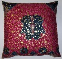 DW14 untreated cotton Dutch wax print pillow cover