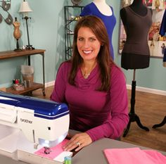 Sew the perfect tee with Angela Wolf on It's Sew Easy
