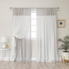 84 in. L Grey Faux Linen Tulle Overlay Curtain 84 in. L Grey Faux Linen Tulle Overlay Curtain – The Home Depot Ruffle Curtains, Boho Curtains, Curtains Living, Home Fashion, Ideas Armario, Living Room Decor, Bedroom Decor, Living Area, Living Rooms