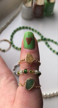 Handmade Wire Jewelry, Funky Jewelry, Hand Jewelry, Hippie Jewelry, Cute Jewelry, Diy Hippie Rings, Jewelry Accessories, Diy Rings, Cute Rings