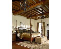 Ernest Hemingway® Thompson Falls Poster Bed - Bedroom | Thomasville Furniture