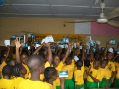 They are happy to learn the truth about drugs! Narconon Nigeria.