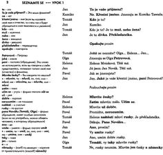 Чешский язык Урок 01 Slovak Language, Study, English, Learning, Studio, Studying, English Language, Teaching, Research