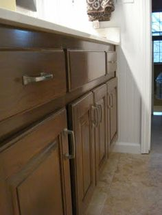 General Finishes Walnut Over Honey Finished Pine Gel Stain Is Available At Unfinished