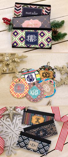 Personalized Wallets, Key chains, and Checkbook Covers | Initial Outfitters