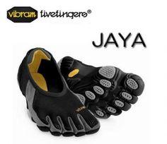 Vibram Fivefingers Jaya Shoe (Size 40, Black/Silver) - W168 $84.00