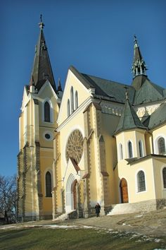 Levoča (Lőcse) Slovákia- Szlovákia Continental Europe, Fortification, Central Europe, Bratislava, Cathedrals, Vacation Ideas, Hungary, Castles, Temple