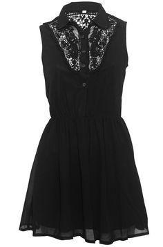 Chiffon Skater Dress