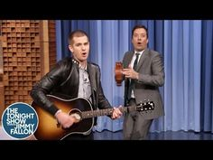 Andrew Garfield Performs the Spider-Man Theme Song with Jimmy Fallon on 'The Tonight Show'