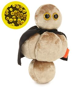 MRSA stuffed animal. I'd like to buy one of these...then light it on fire.