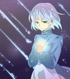 Sophie art. I think this is the part where Sophie is holding Howl's heart. Very beautiful piece!