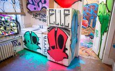 This Modern Building Art Proves Things Look Better with Graffiti #streetart #graffiti trendhunter.com